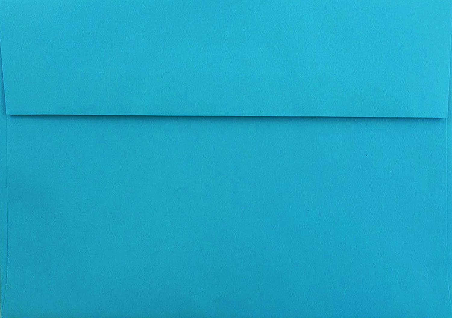 Bright Blue 100 Boxed A2 (4-3/8 x 5-3/4) Envelopes for 4 1/8 x 5 1/2 Cards, Invitations, Announcements from The Envelope Gallery Astrobrights Celestial Blue