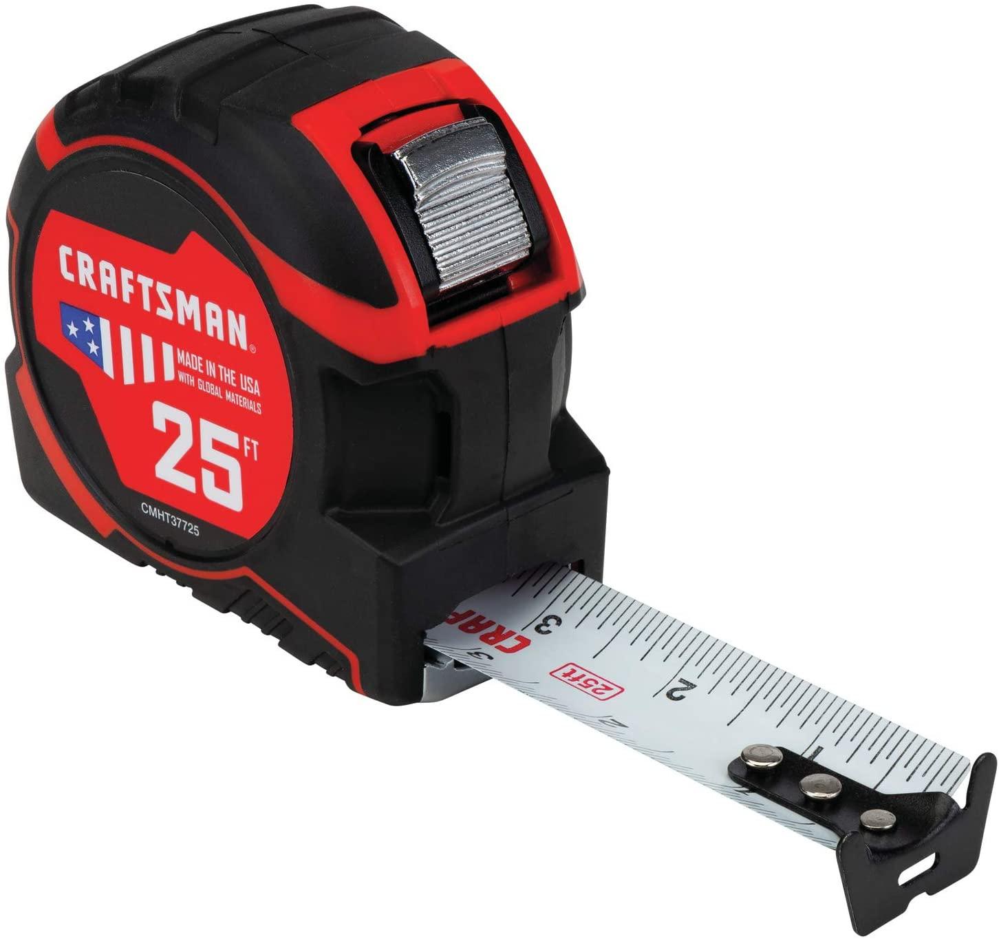 CRAFTSMAN Tape Measure 25-Foot (CMHT37725S)