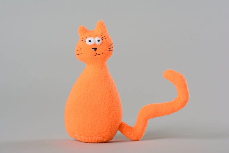 MadeHeart   Buy handmade goods Flavored Soft Toy Orange Cat