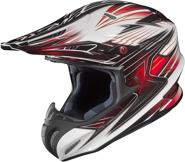 HJC 1562-036 Visor Bolt for RPHA X Helmets - Red/Black