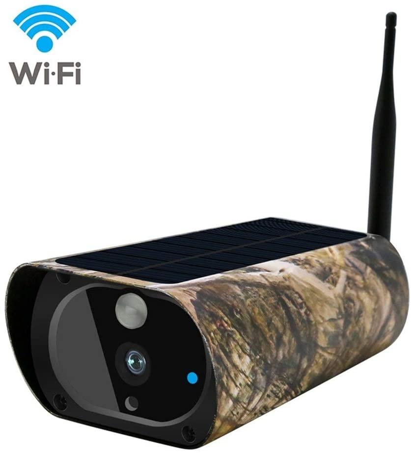 XINHAUNG WiFi Solar Hunting Camera MMS Alert 15m Night Vision Waterproof Trail Camera Photo Traps HD Video Recording PIR Detecting