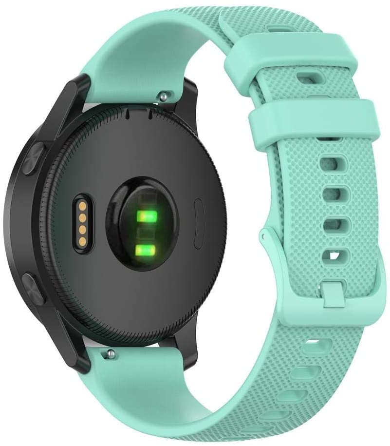 ZL-U 20mm Silicone Strap for Huami Amazfit GTS/Samsung Galaxy Watch Active 2 / Gear Sport