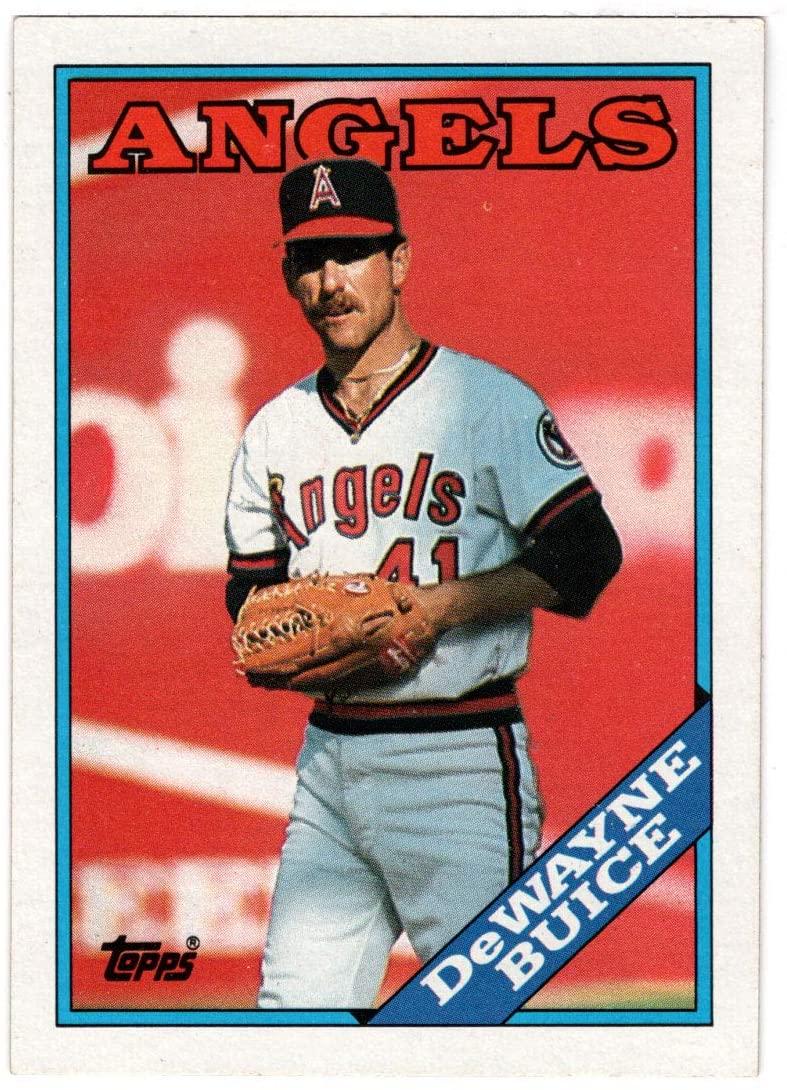 Dewayne Buice - California Angels (Baseball Card) 1988 Topps # 649 Mint