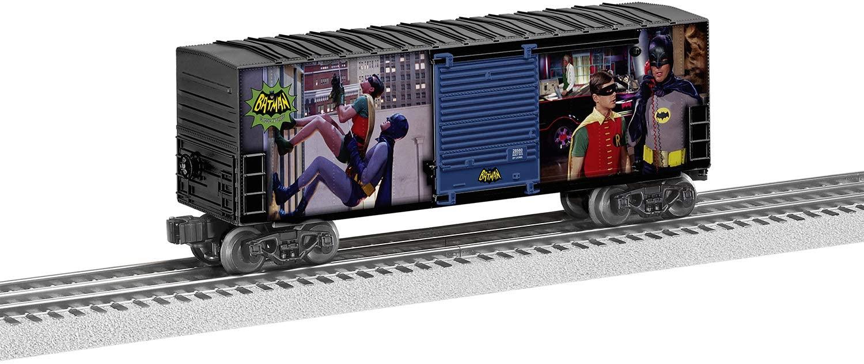 Lionel Batman, Electric O Gauge Model Train Cars, Batman & Robin Car