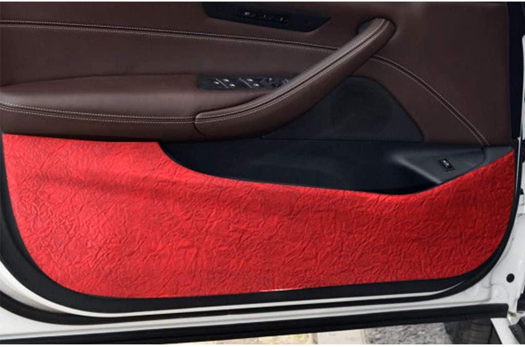 Car door Anti Kick Pad Protector for 5 Series 2018(Red)