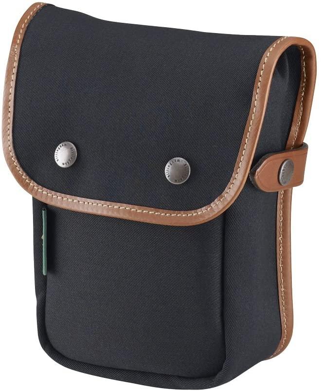 Billingham Delta Camera Pocket (Black Canvas/Tan Leather)