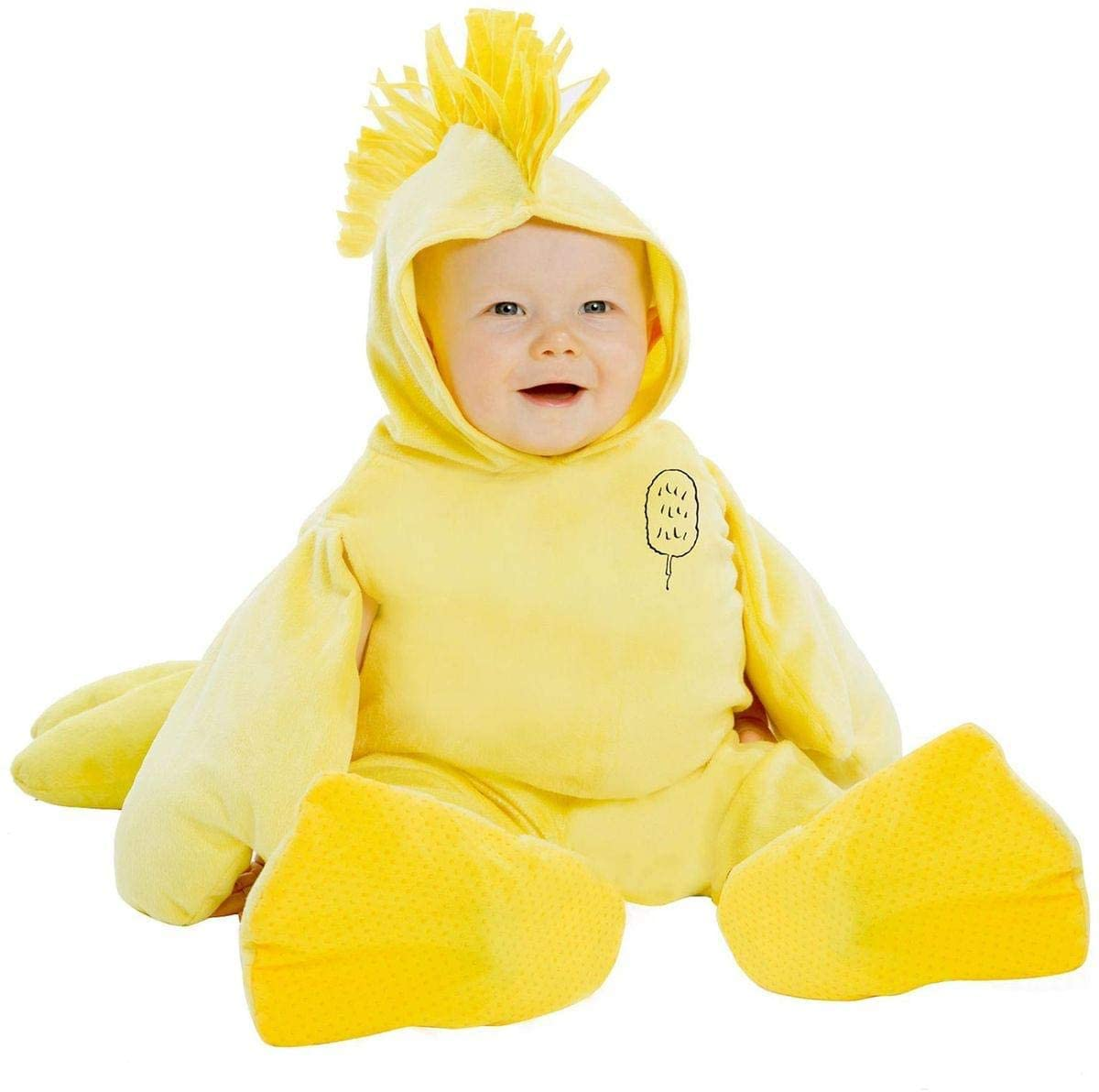 Peanuts Woodstock Super Deluxe Toddler Costume 1T/2T