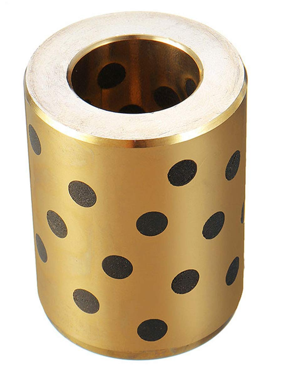 VXB Brand 8mm Self Lubricant Graphite Brass Linear Motion Bearing 8x15x17mm Type: Linear Motion Brass Self Lubricant Graphite Ball Bushing Material: Brass Size: 8mmx15mmx17mm