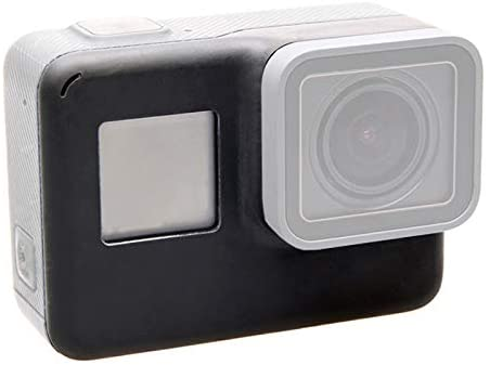 for GoPro HERO5 Front Cover Faceplate Frame Housing Repair Part (Color : Black)