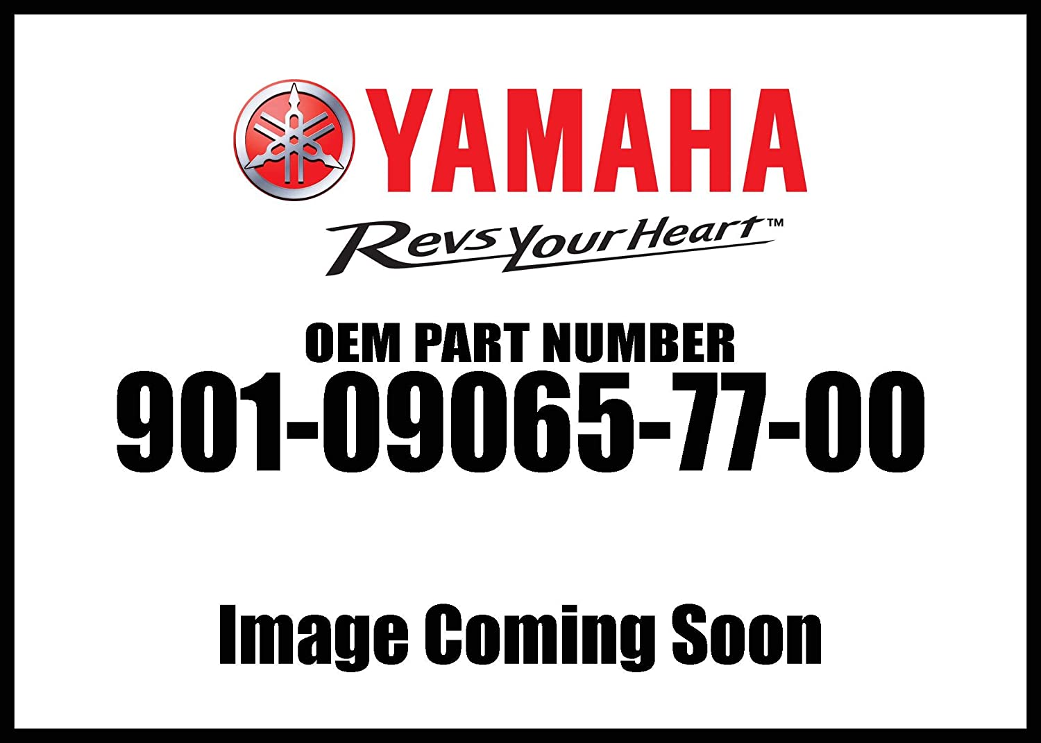 Yamaha 90109-06577-00 Bolt; 901090657700 Made by Yamaha