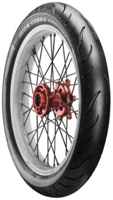 Avon Cobra Chrome AV91 Front Motorcycle Tire 120/70-21 (68V) Black Wall for Yamaha Raider XV1900C 2008-2017