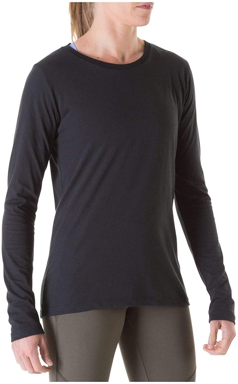5.11 Tactical Women's Long Sleeve Performance Tee, Moisture-Wicking, Odor-Control, Style 32005JO