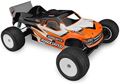 J Concepts 0289 Finnisher - RC10T5M Body with Spoiler