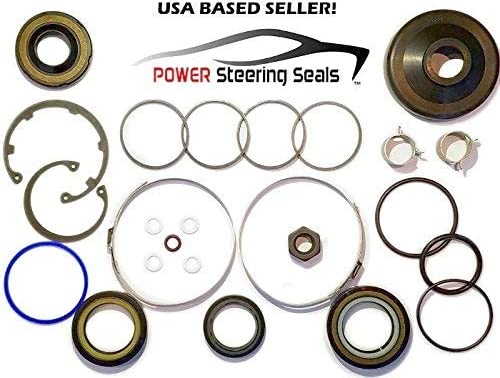 Power Steering Seals - Power Steering Rack and Pinion Seal Kit for Ford Crown Victoria