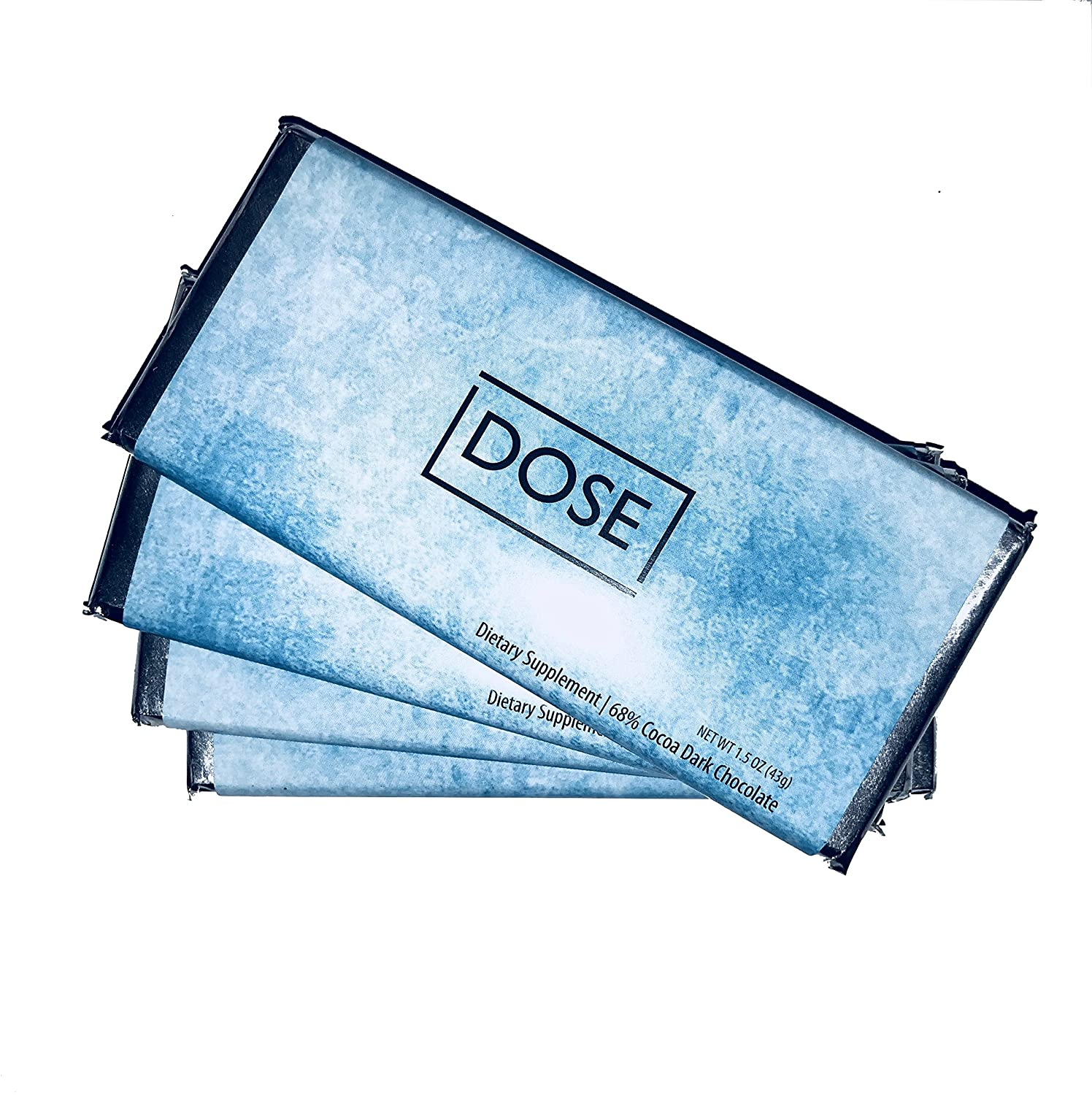 Dose Chocolate: Made with D-Mannose (8 Week Supply) - 8 Bars