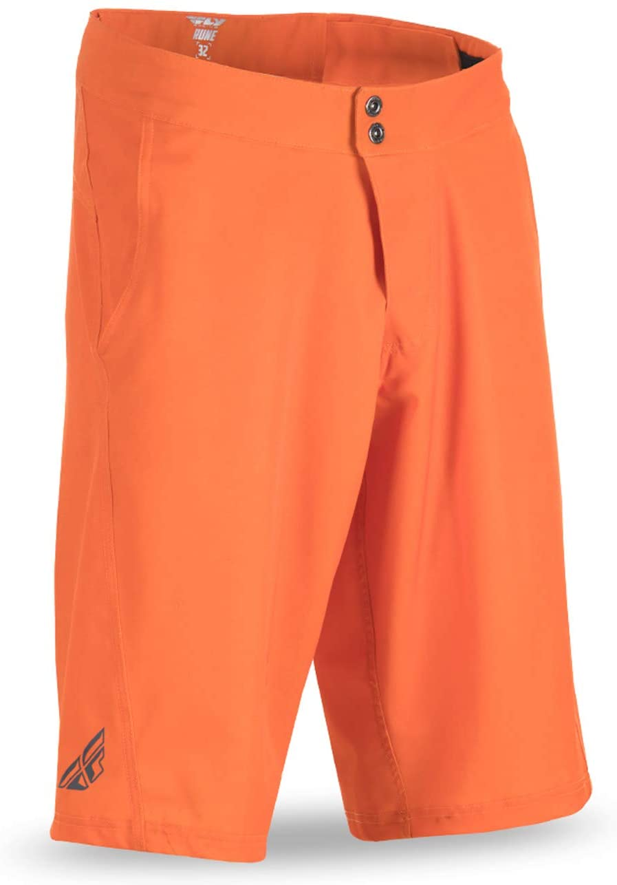 Fly Racing Unisex-Adult Rune Shorts (Orange, Size 32)
