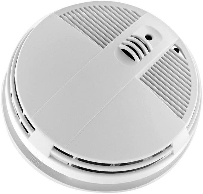 KJB SC7200WF HD 720P Xtreme Life Battery Operated WiFi Smoke Detector Bottom View Hidden Camera