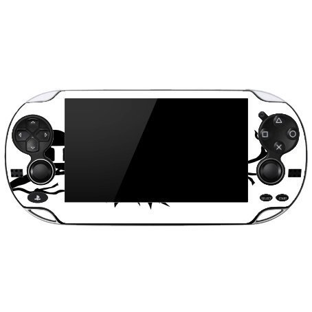 Silhoutte Playstation Vita Vinyl Decal Sticker Skin by Compass Litho by Compass Litho