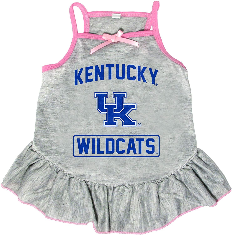 Littlearth NCAA Kentucky Wildcats Pet Dress, Medium