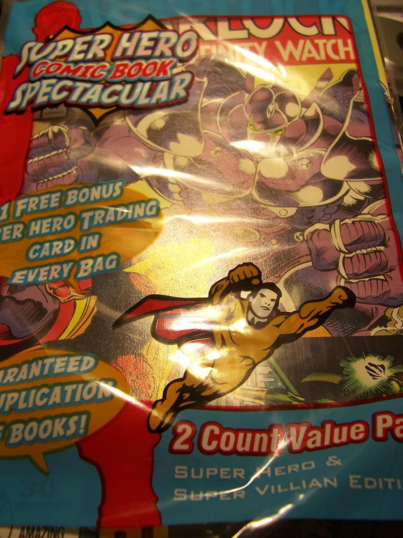 Superhero Comic Spectacular: Super Hero & Super Villian Edition (Rising Star #0.5; Key Issue Ruse #19) Plus Bonus Trading Card