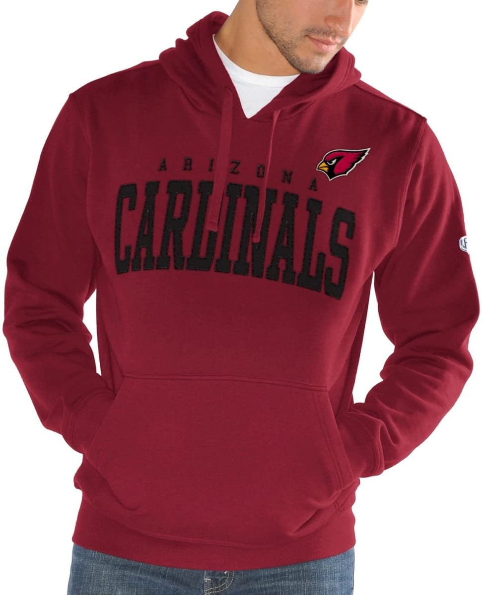 GIII Apparel Arizona Cardinals Men's Playing Field Pullover Sweatshirt