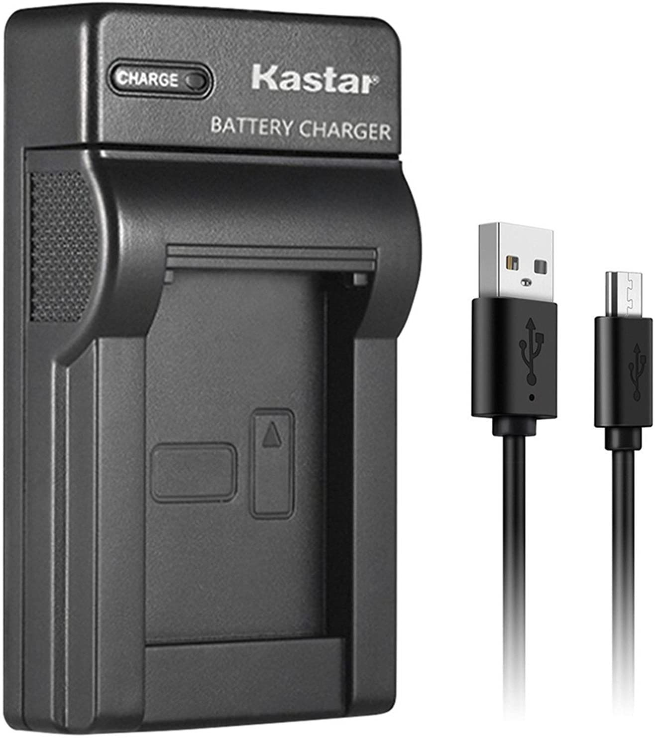 Kastar Slim USB Charger for Sony NP-FV100 NP-FH100 DCR-SR15 SR21 SR68 SR88 SX15 SX21 SX44 SX45 SX63 SX65 SX83 SX85 HDR-CX110 CX115 CX130 CX150 CX160 XR160 CX360 CX560 CX700 PJ10 PJ30 PJ50 Cameras
