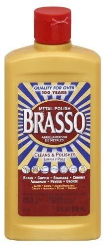 Brasso Multi-purpose Metal Polish 8 Ounce by Brasso