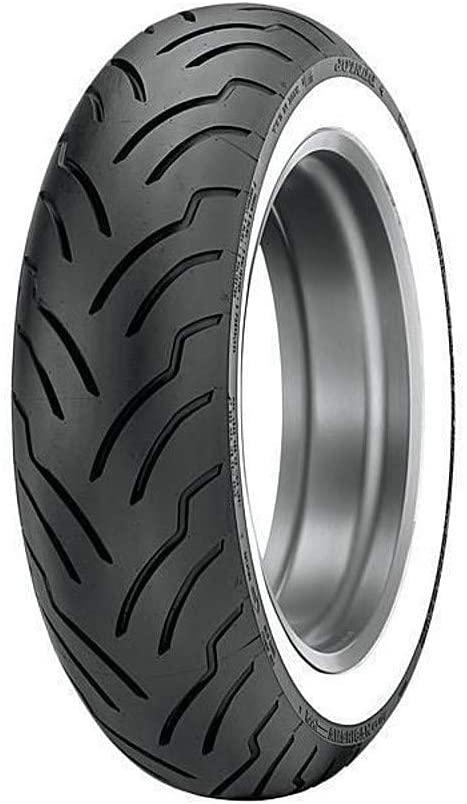 DUNLOP American Elite Whitewall Rear Tire (Wide Whitewall / 180/65-16B)