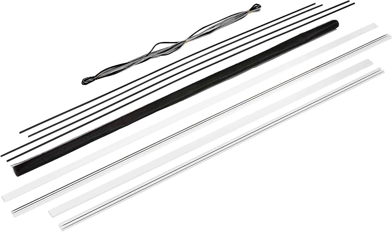 Hecht International Window Kit Master Slim Price for 1Each, White, 100690101-VH