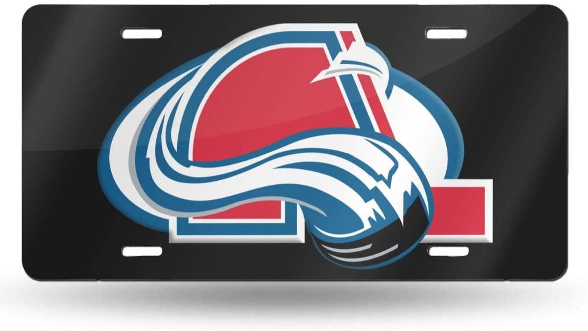 N/C Quebec Nordiques Hockey Team License Plate 6