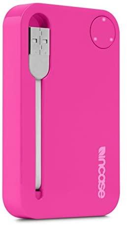 Incase Portable Power 2500 - Retail Packaging - Magenta/Gray