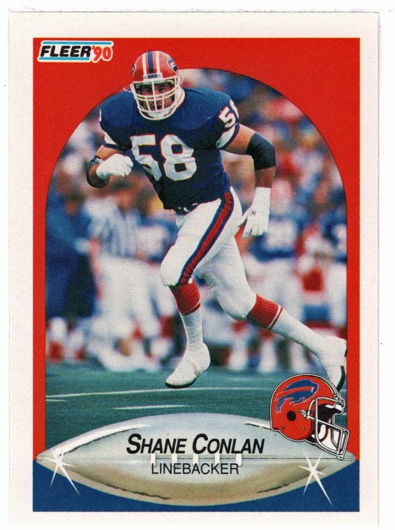 Shane Conlan - Buffalo Bills (Football Card) 1990 Fleer # 112 Mint