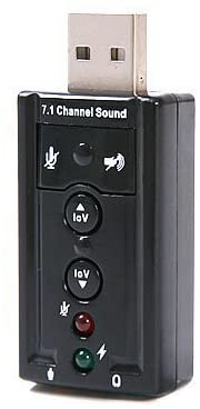 Importer520 USB Virtual 7.1-Channel Sound Adapter