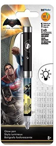 DC Comics Superman Vs Batman Glow Pen