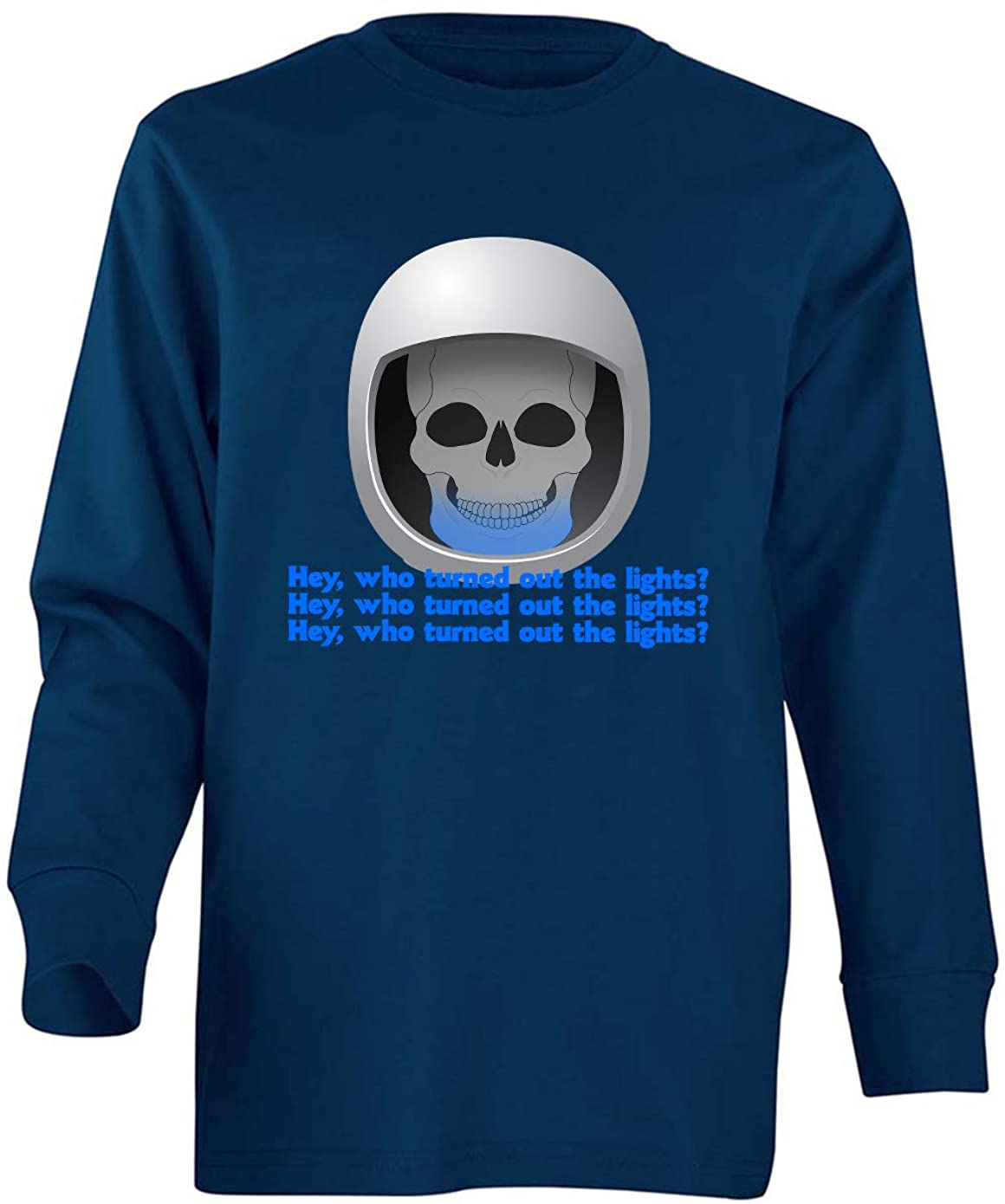 Tenacitee Boy's Youth Who Turned Out The Lights Long Sleeve