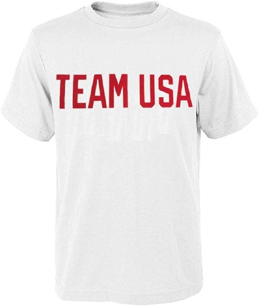 Outerstuff Team USA 2020 Tokyo Summer Olympics Mens T-Shirt - White