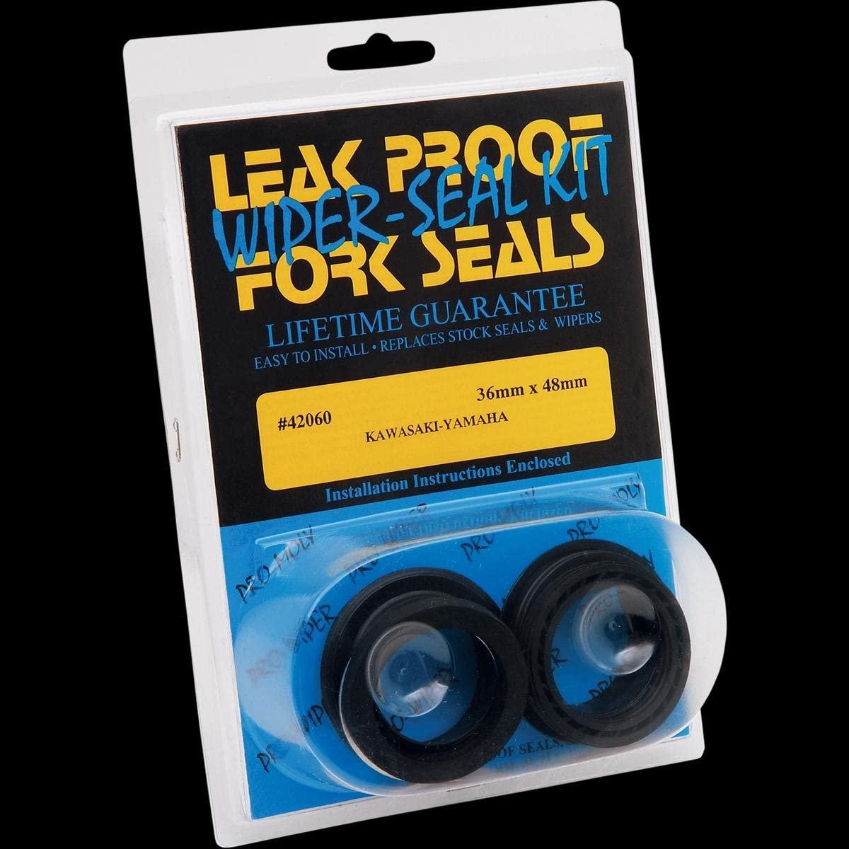 Leak Proof Seals Pro-Moly Fork Seals/Wiper Seals