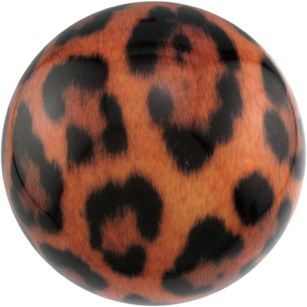 Brunswick Leopard PRE-DRILLED Viz-A-Ball Bowling Ball