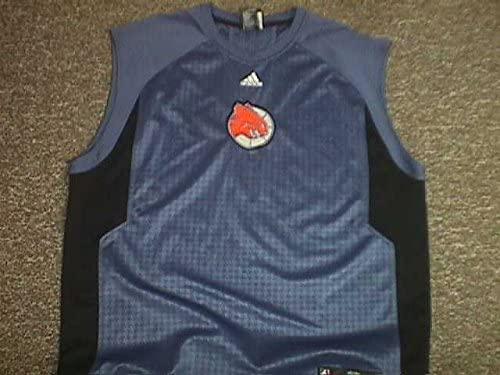 Jared Dudley Charlotte Bobcats Sleeveless Game Worn Shooting Shirt