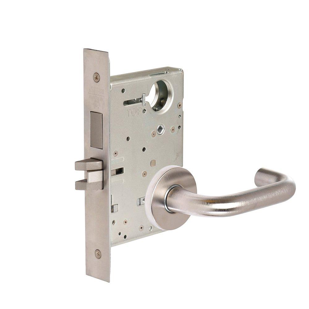 CORBINRUSSWIN ML2030-LWA-630 630 Satin, Lever LWA Lustra, Privacy/Bed/Bath, Steel; Stainless Steel