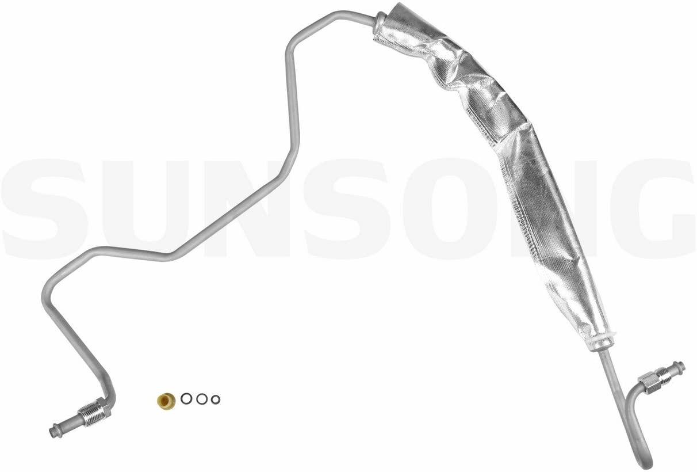 Sunsong 3401307 Power Steering Pressure Line Hose Assembly
