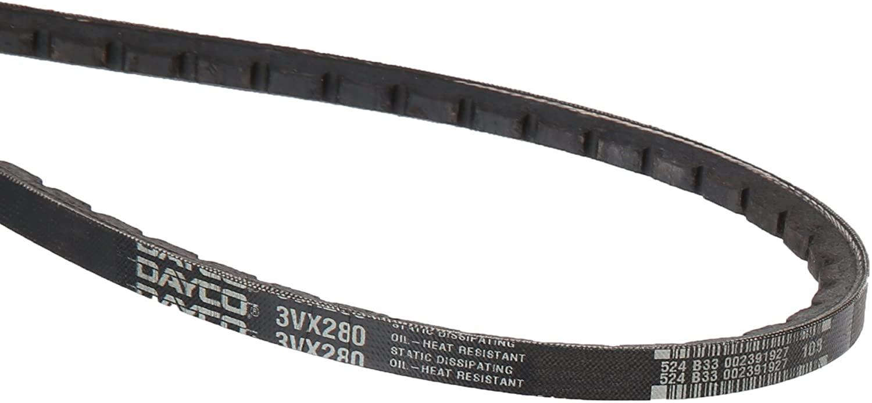 Dayco 3Vx280 Gold Label Cogged V-Belt