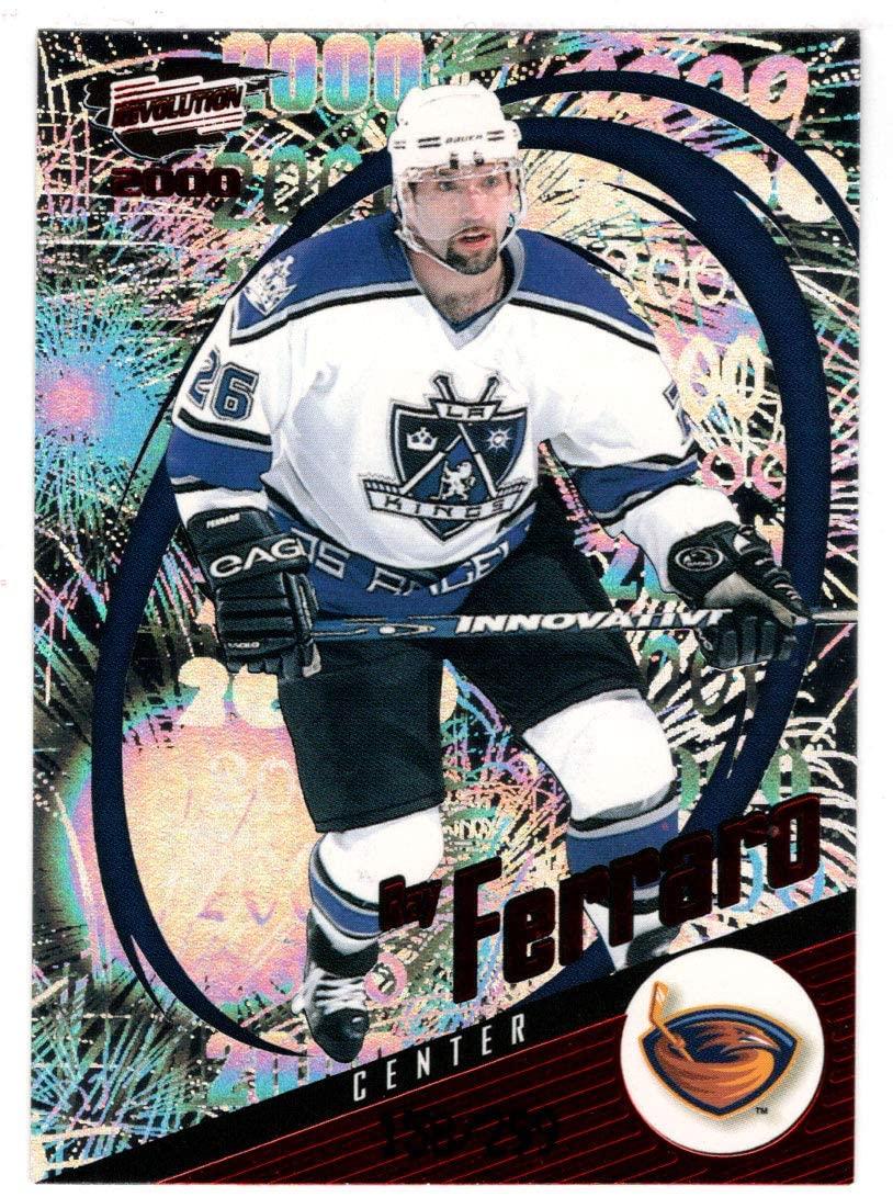 Ray Ferraro 158/299 - Los Angeles Kings (Hockey Card) 1999-00 Pacific Revolution RED # 7 Mint