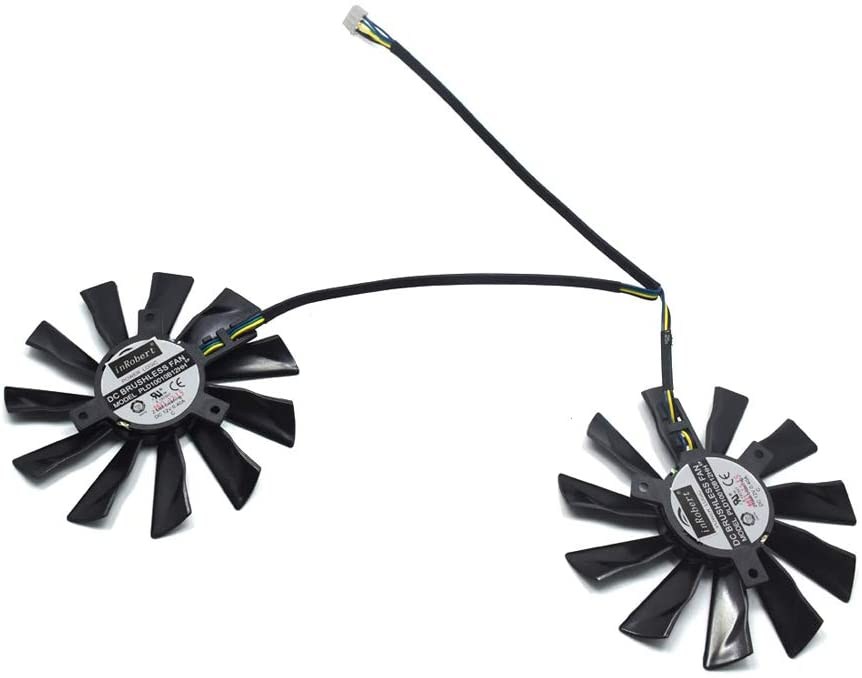 Graphics Card Fan Graphics Card Gpu/Vga Fan, PLD10010B12HH 95mm GTX780Ti 780 750Ti 660 760 Fan 40mm 12V 0.40A 4Pin for MSI R9 270X 280X 290 290X Cooling Fan