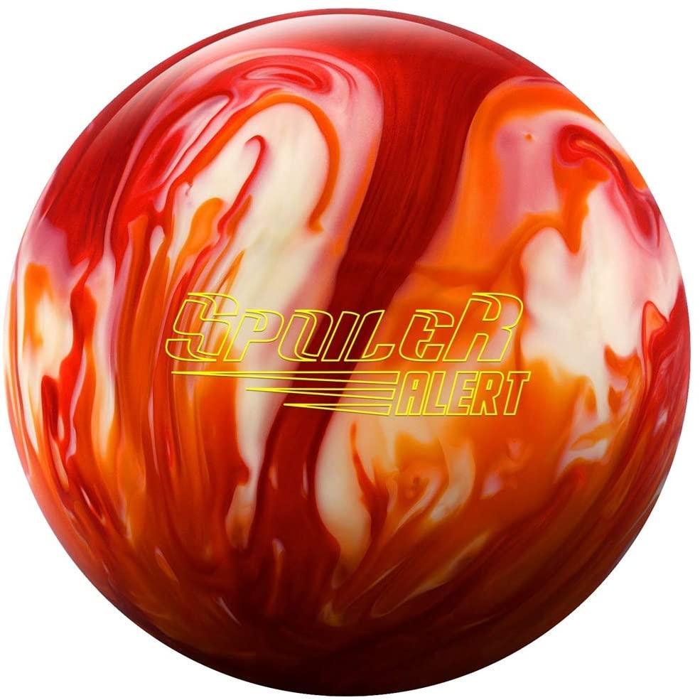 Columbia 300 029744028279 Spoiler Alert Bowling Ball, Orange/Red/White, 12