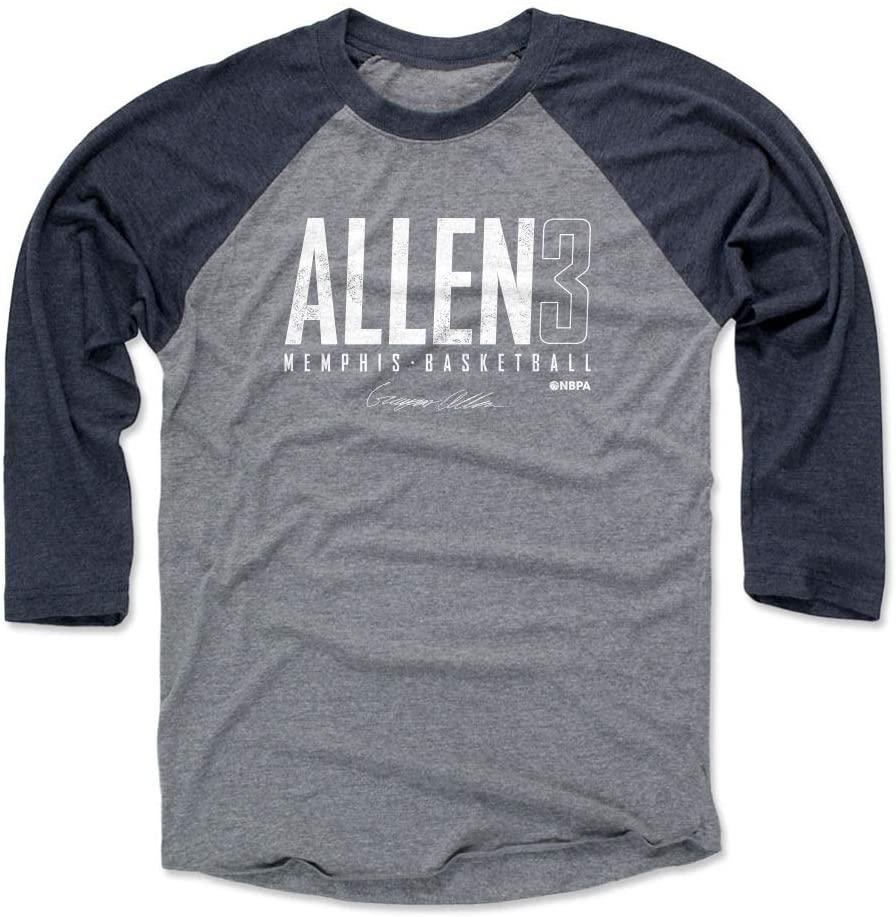 500 LEVEL Grayson Allen Shirt - Memphis Basketball Raglan Tee - Grayson Allen Memphis Elite