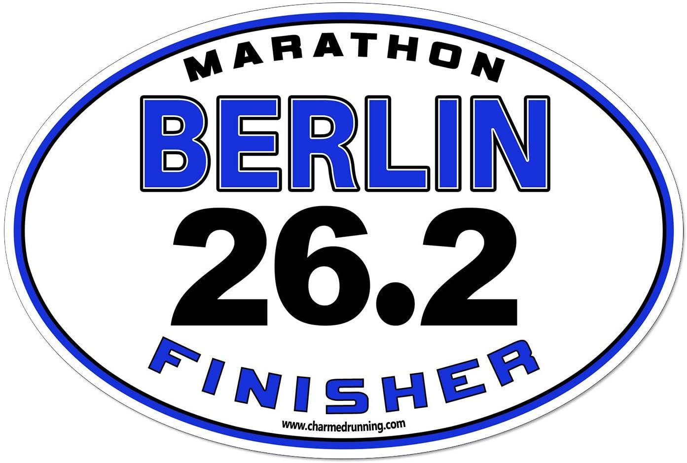 Charmed Running Berlin Germany Marathon Finisher 26.2 Car Magnet