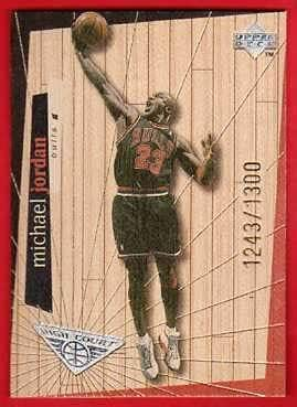 Upper Deck Michael Jordan #0578/1,300 (Basketball Card) 1998-99 Hardcourt - High Court #H30