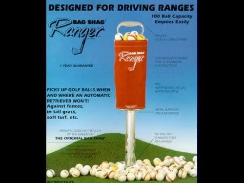 Madewell Ranger Bag Shag Green Pick Up Golf Balls Heavy Duty Use