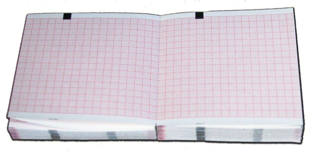 Schiller AT-1 Chart Paper - 90mm X 90mm X 280 Sheets, Z-fold (5 Packs/Box)